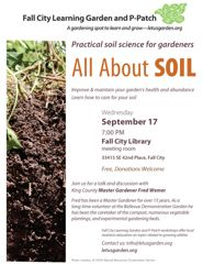 All about soil flyer
